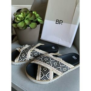 NEW IN BOX BP 'Booker' Sandals